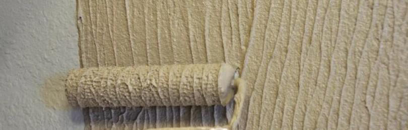 Декоративная штукатурка своими руками из обычной шпаклевки –преимущества и недостатки
