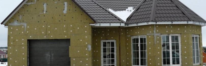 Утепление фасада минватой, пенопластом, пеноплексом