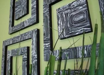 Быстрый ремонт: декорируем стену за один день