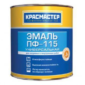 Эмаль пф-115: технические характеристики