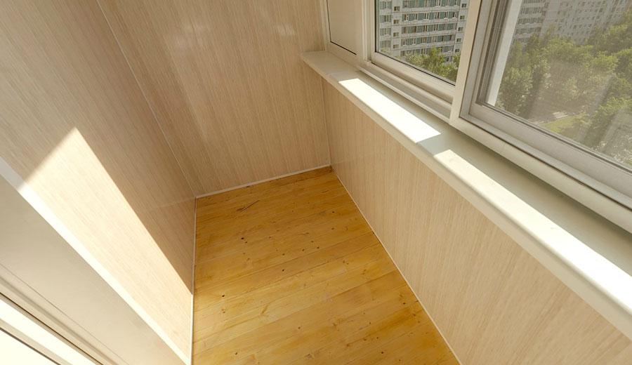 Отделка балкона и лоджии мдф панелями
