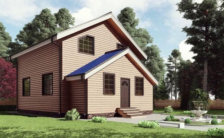 Дом 8 на 8: 135 фото актуальных проектов маленьких квадратных домов и коттеджей