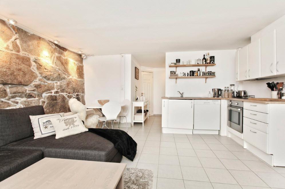 Кухня студия: планировка интерьера, советы дизайнеров, фото