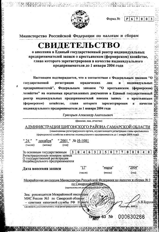 О крестьянском (фермерском) хозяйстве (с изменениями на 23 июня 2014 года), федеральный закон от 11 июня 2003 года №74-фз