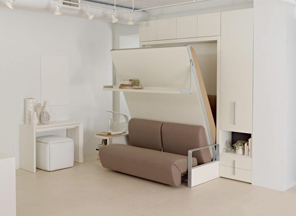 встроенная мебель для маленьких квартир