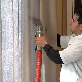 Химчистка штор: 112 фото процесса чистки штор дома и в офисе