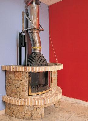 Дымоход для камина. выбор материалов для дымохода. требования к дымоходам для каминов