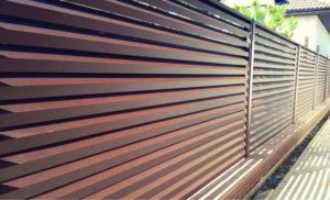 Забор-жалюзи — веяние нового времени
