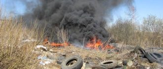 Сжигание мусора на даче в железной бочке. сделал бочку для сжигания мусора своими руками