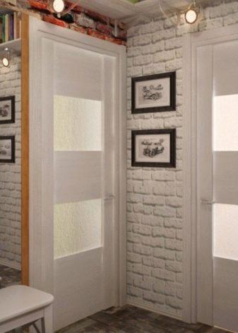 Обои в коридор: типы, цвет, рисунок