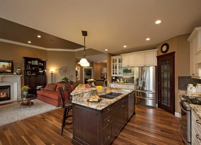 Дизайн кухни с балконом: 8, 9, 10, 11, 12 кв. м. + 100 фото