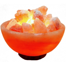 """Соляная лампа """"скала"""": описание, инструкция, отзывы врачей, польза и вред"""