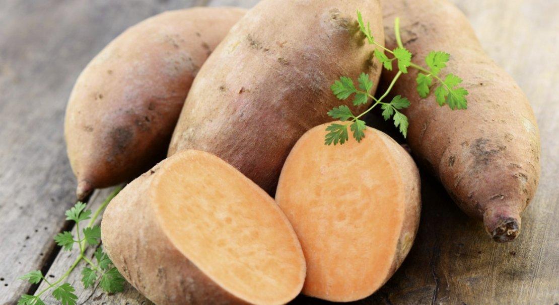 Сладкий картофель батат фото