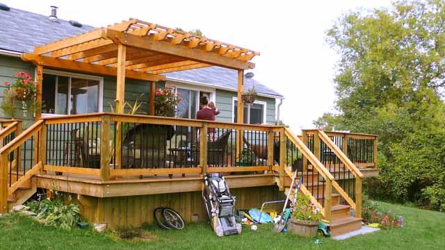построить террасу к дому под ключ цена