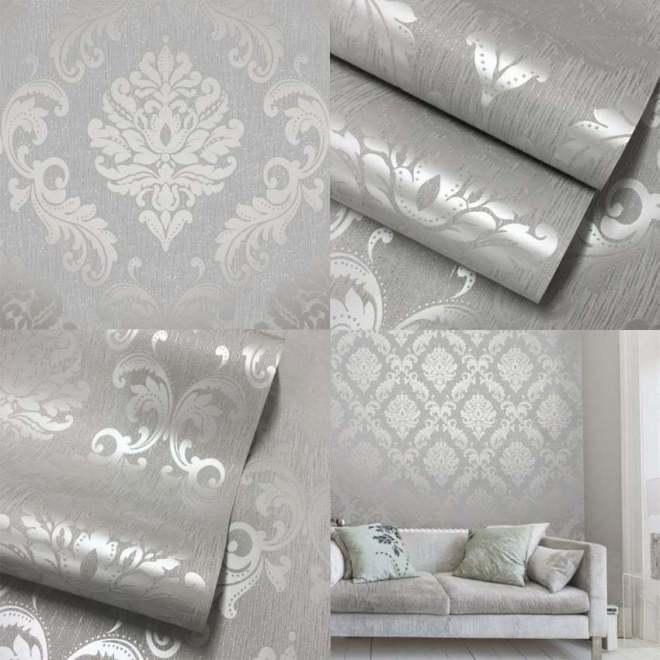 Белые обои: особенности сочетания оттенков и подбора штор