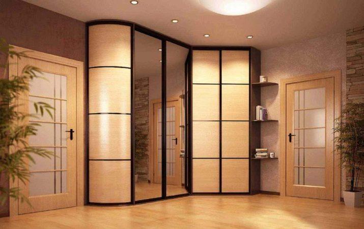 Шкаф купе вкоридор: обзор стильных современных моделей