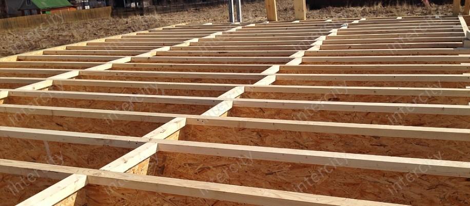 деревянные балки перекрытия пролет 6 метров цена