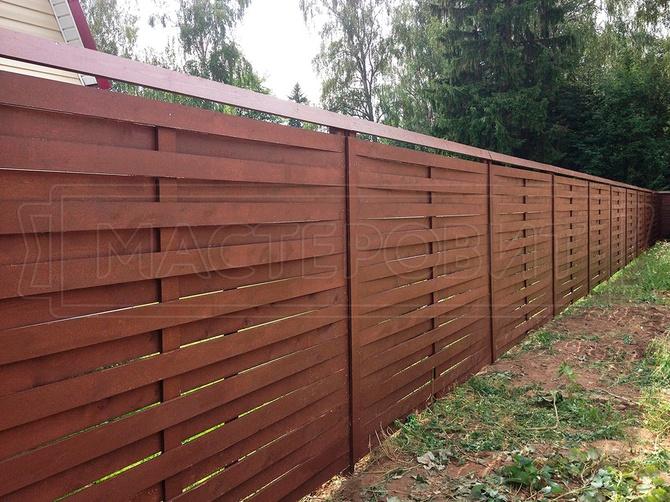 Плетеный забор: изгородь своими руками