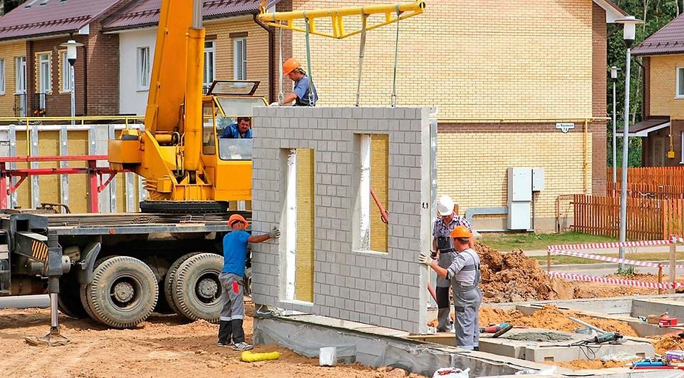 Дом из панелей жби — строительство из железобетонных плит, как строят панельные дома