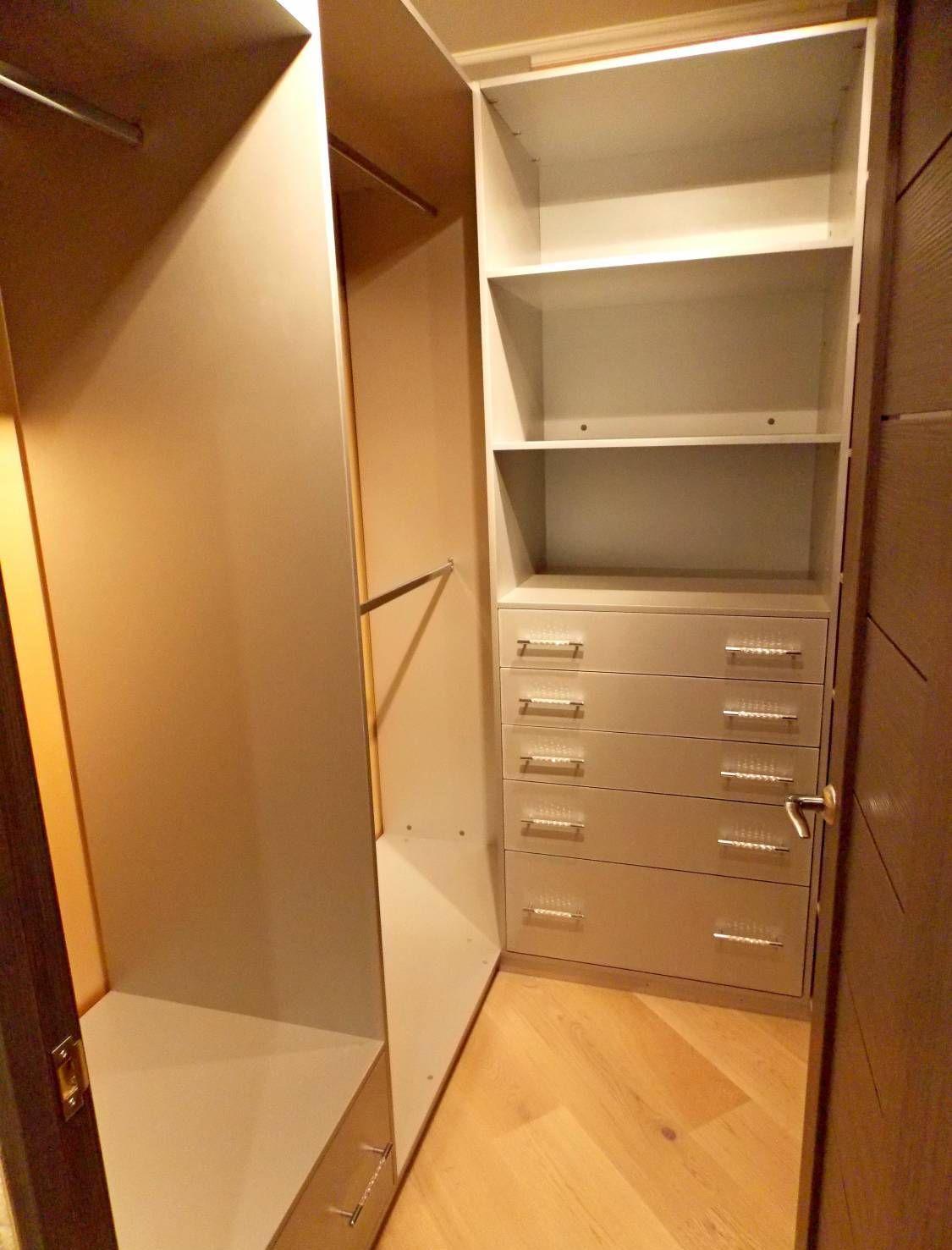вход в спальню через гардеробную