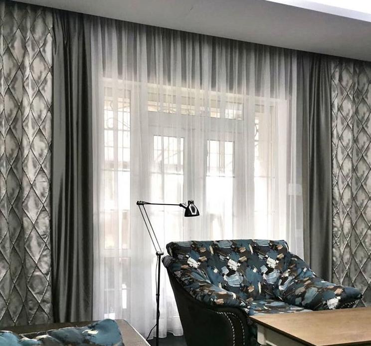 шторы в гостиную фото 2018