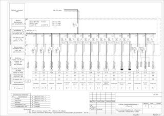 Однолинейная схема: образец, как нарисовать, виды и этапы проектирования электроснабжения