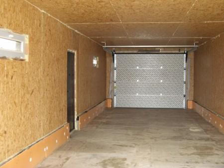 Как утеплить металлический гараж