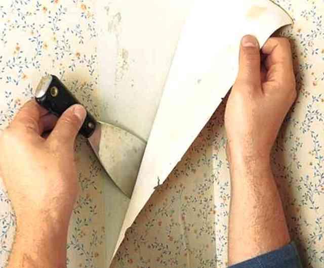 Поклейка комбинированных обоев на флизелиновой основе: пошаговая инструкция с фото.