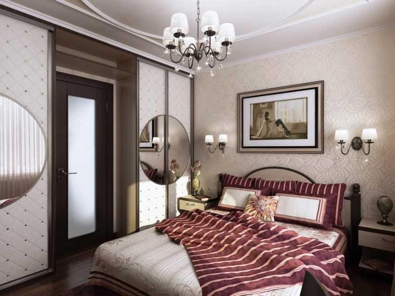 Оформление стен в спальне: неординарные решения