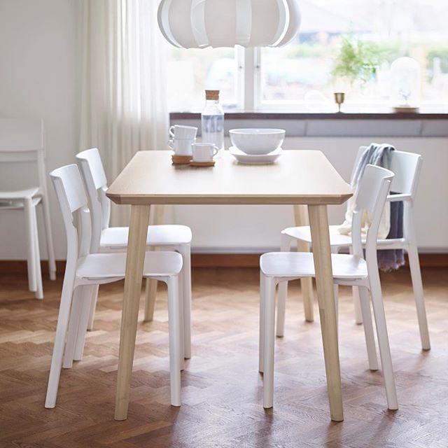 Раскладной стол икеа (30 фото): обзор кухонных обеденных, журнальных, столиков для пикника, для гостиной-столовой