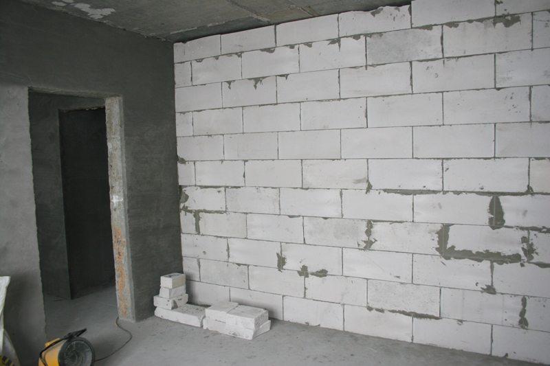 Кладка стен из пеноблоков цена за работу
