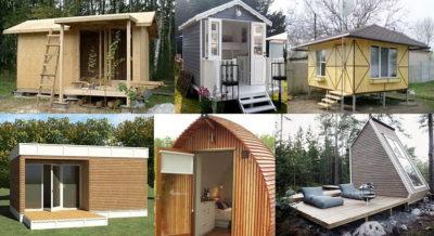 проекты маленьких каркасных домов