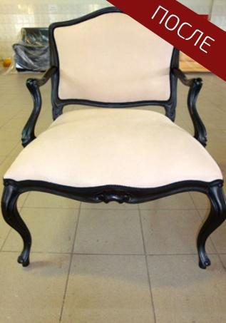перетяжка стульев кожзамом