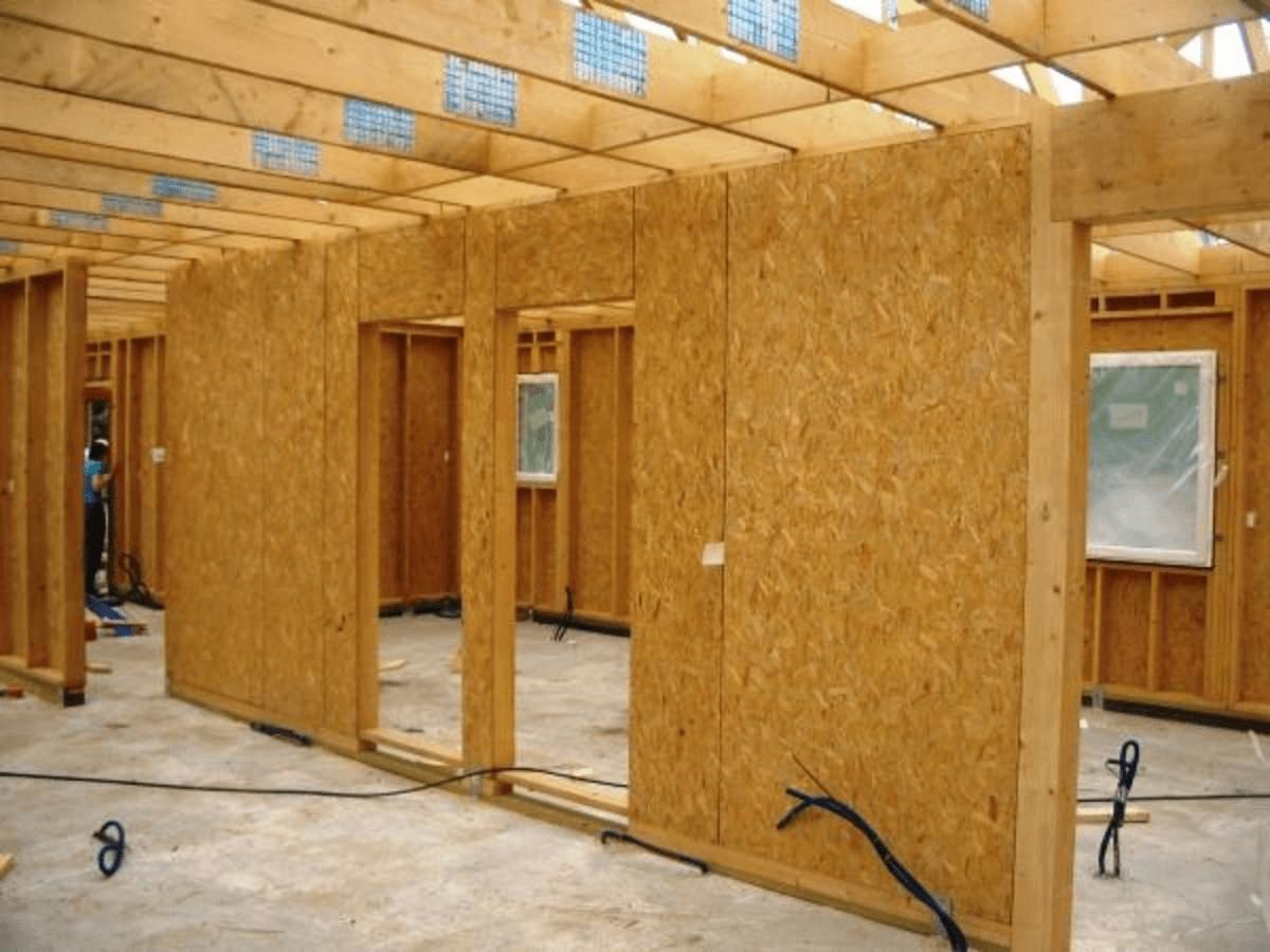 Как делать перегородки в деревянном доме