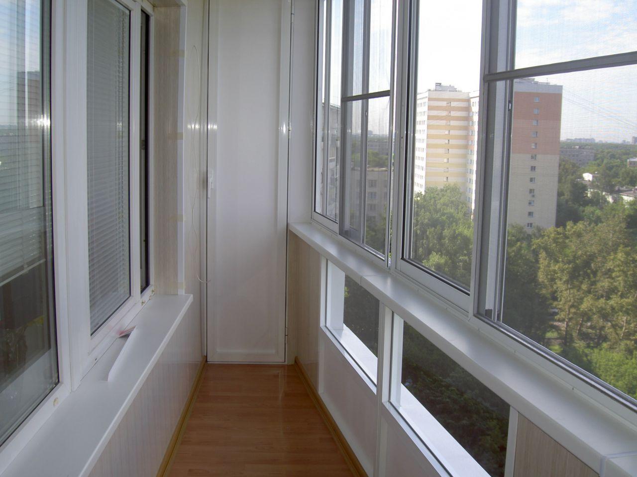 Виды остекления балконов: классический,евроостекление