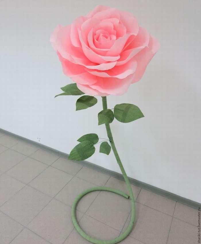 цветы из гофрированной бумаги пошагово для начинающих