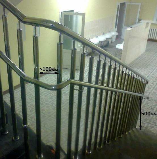Ограждения лестницы для безопасности детей