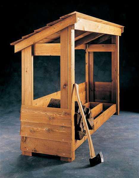 подставка для дров в баню