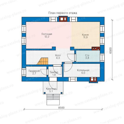 Дом 7 на 9 — обзор лучших проектов домов и советы по их оформлению (80 фото)