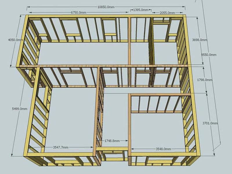Принципы построения разреза здания, документы которые нужно знать и требования к чертежам