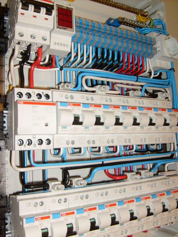 сборка электрощита для частного дома