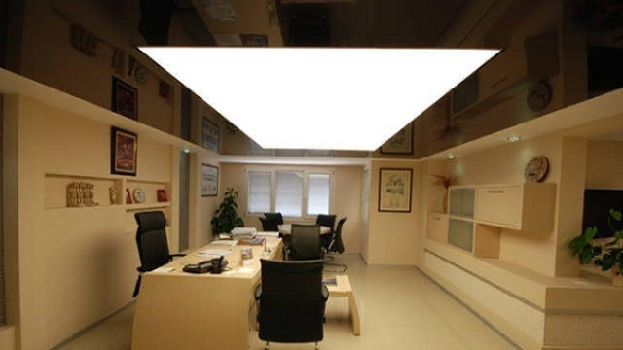Как сделать светящийся потолок – виды, различия