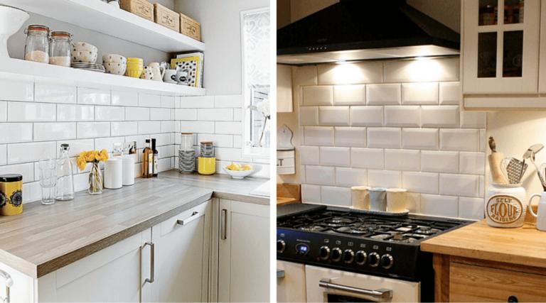 Плитка «кабанчик» на фартук кухни: как выбрать и вписать в интерьер