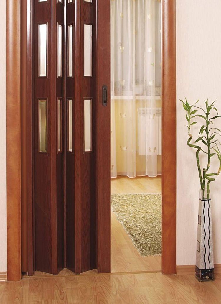 дверь гармошка межкомнатная
