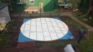 Как выровнять площадку под каркасный бассейн для дома и дачи: инструкция по выравниванию земли и устранению перепада высот