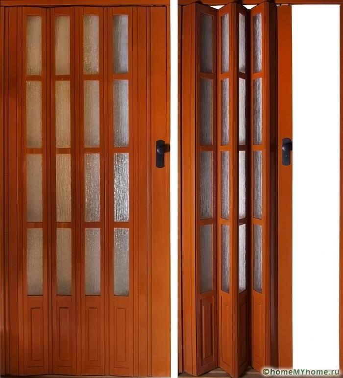 дверь ширма межкомнатная