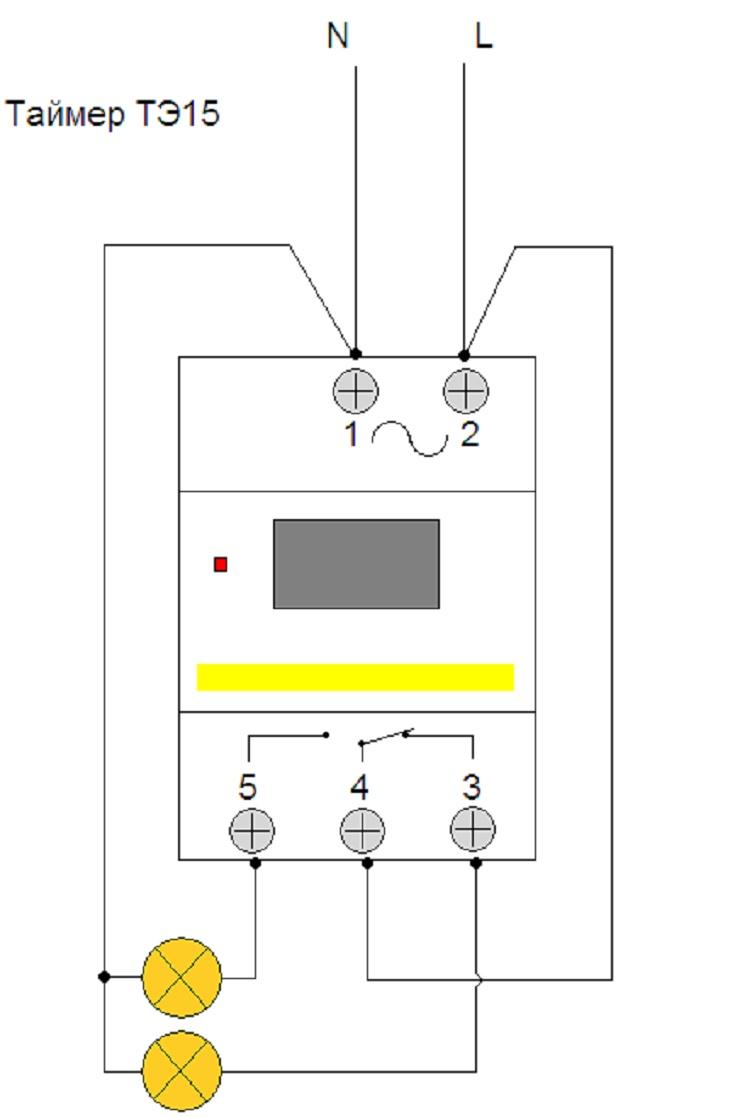 Недельный электронный таймер тэ-15. настройка и схема подключения | aliтовары