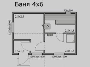Баня 4х4+2, цена от 134 000 ₽: купить сруб из бревна 4 на 4 с верандой – баня мск, спб