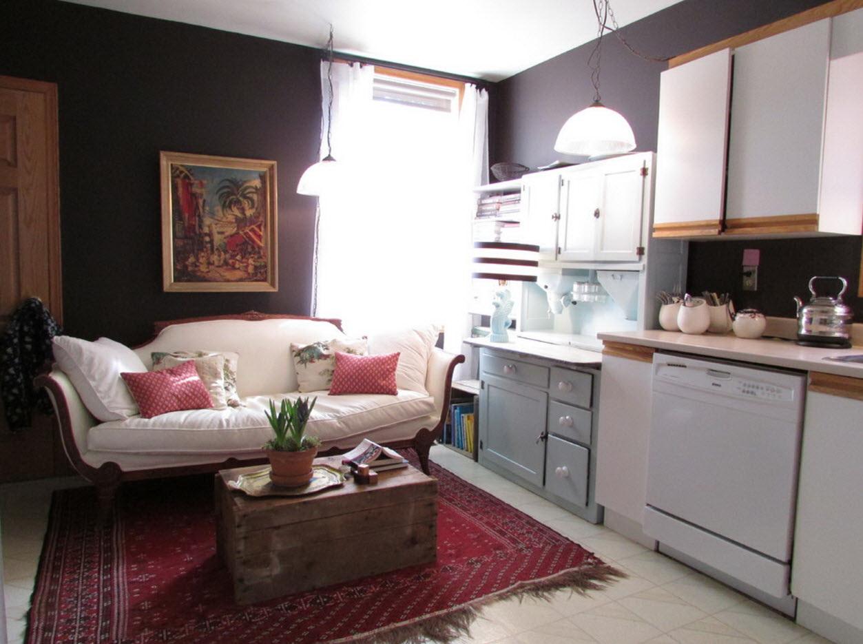 диван для столовой