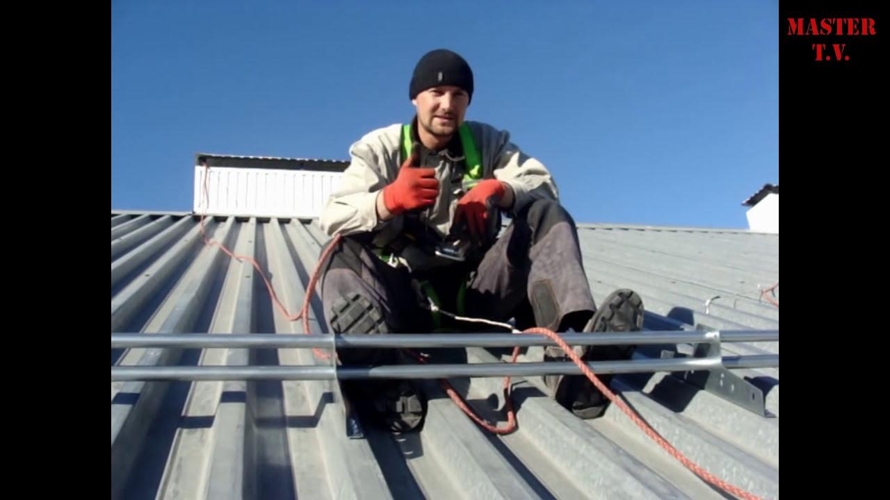 Снегозадержатели на крышу: особенности разных видов приспособлений